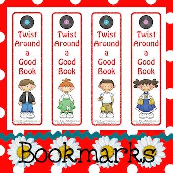 Bookmarks: Twist Around a Good Book
