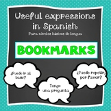 Bookmarks Useful Expressions in Spanish
