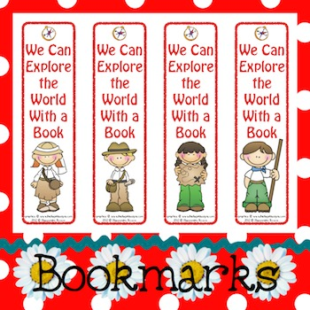 Bookmarks: We Can Explore The World With a Book