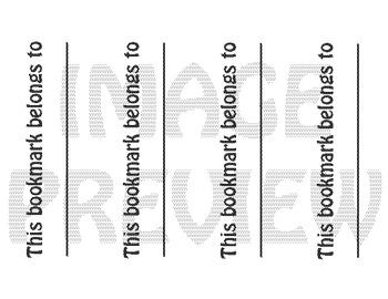 Bookmarks: We Love Math