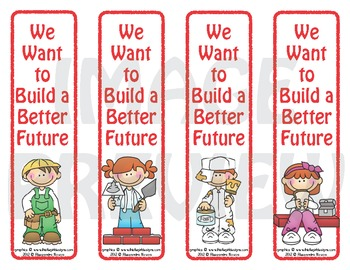 Bookmarks: We Want to Build a Better Future
