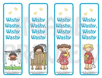 Bookmarks: Wishy Washy, Wishy Washy 1