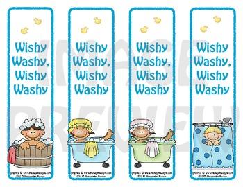 Bookmarks: Wishy Washy, Wishy Washy 2