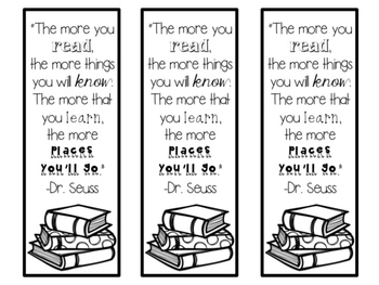 Bookmarks {a growing freebie}