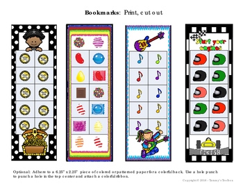 Bookmarks and Brag Tags - Student Incentives and Rewards