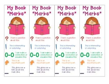 Bookmarks for Close Reading