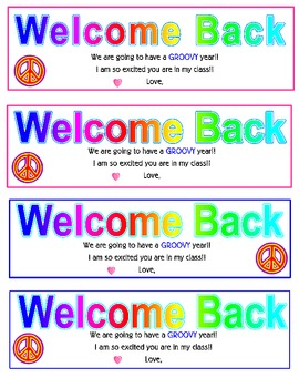 Bookmarks for Back-to-School
