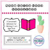 """Bookmarks for Choosing """"Just Right"""" Books"""