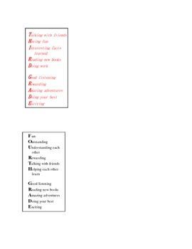 Bookmarks for Different Grades