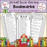 Bookmarks for Great Book Series * 3rd and 4th Grade Level