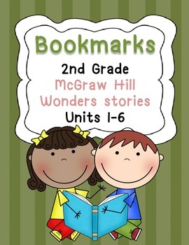 Bookmarks for McGraw Hill Wonders Grade 2