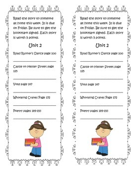Bookmarks for McGraw Hill Wonders Grade 3