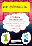 Bookmarks for Number Recognition and Spelling Practice