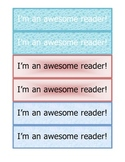 Bookmarks for Reading.