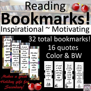 Bookmarks for Secondary Readers
