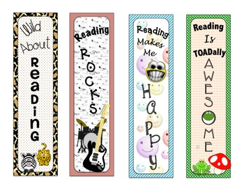 Bookmarks for Students- First day of School