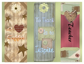 Bookmarks for Your Favorite Teacher---or YOURSELF