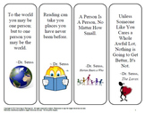 Bookmarks for the Classroom - Inspirational Quotes