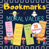 Bookmarks of Moral Values - Give Aways