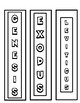 Bookmarks of the Old & New Testament to color  -  Print, Cut, Color & Done!
