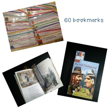 Bookmarks: perfect for your school library
