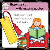 Bookmarks with Reading Quotes