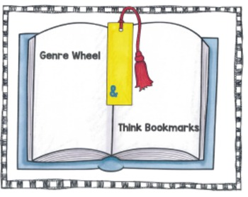 Genre Wheel and Think Bookmarks