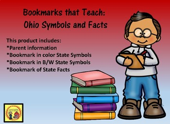 Bookmarks that Teach: Ohio Symbols and Facts for Parents
