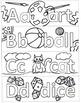 Kindergarten ABC Bookmarks