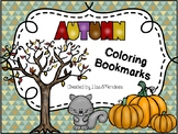 Bookmarks to Color - Autumn