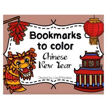 Bookmarks to Color - Holidays BUNDLE