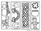 Bookmarks to Color - St. Paddy's Day