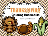Bookmarks to Color - Thanksgiving
