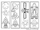 Bookmarks to Color - camping