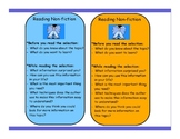 Bookmarks to Guide Comprehension Strategies
