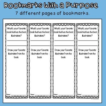 Bookmarks with a Purpose (Free Sample)