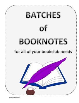 Booknotes for Reading