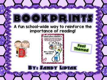Bookprint (Footprint Themed)