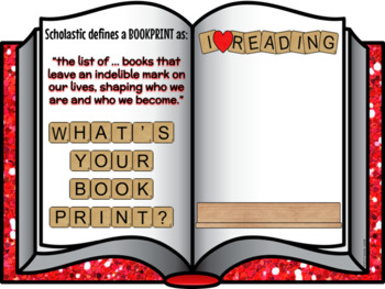Bookprint (Scrabble Themed)