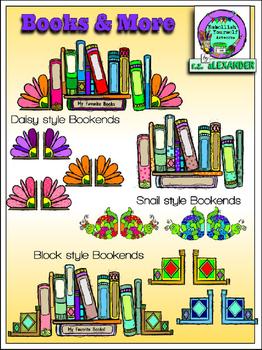Books & More Clipart