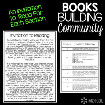 Books Building Community - Interactive Read Aloud for How to Steal A Dog
