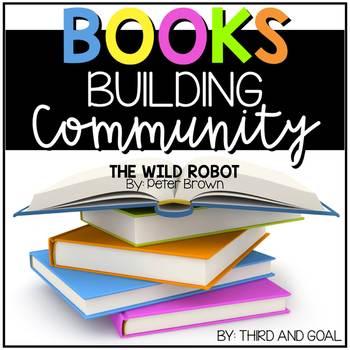 Books Building Community - The Wild Robot