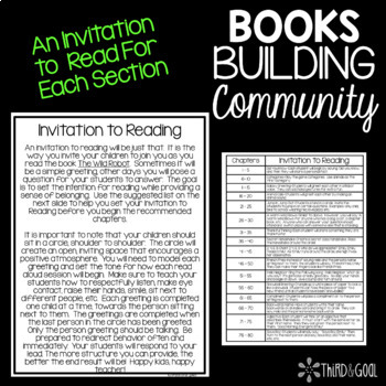Books Building Community - Interactive Read Aloud for The Wild Robot
