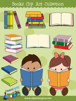 Books Clip Art Collection