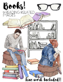 Books-Clip Art Package