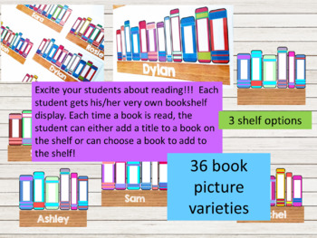 Books Display - encourage reading with this fun display of books