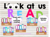 Personalized Book Display - encourage reading with this fu