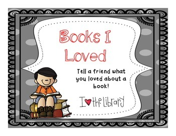 Books I Loved - Student recommendations