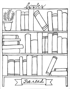 Books I've Read Graphic Organizer Printable