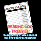 Books I've Read Student Reading Log